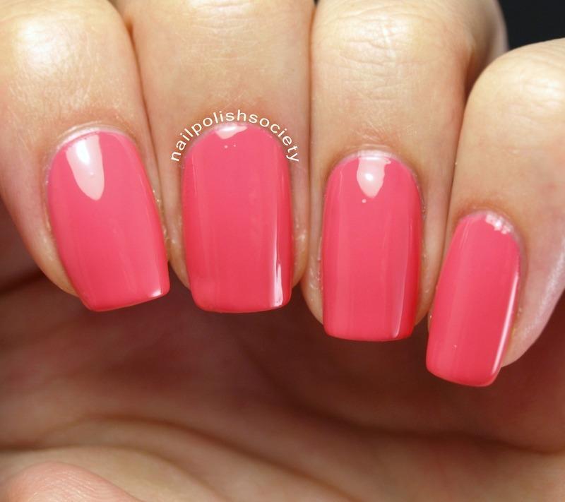 Jenna Hipp Daft Pink Swatch by Emiline Harris