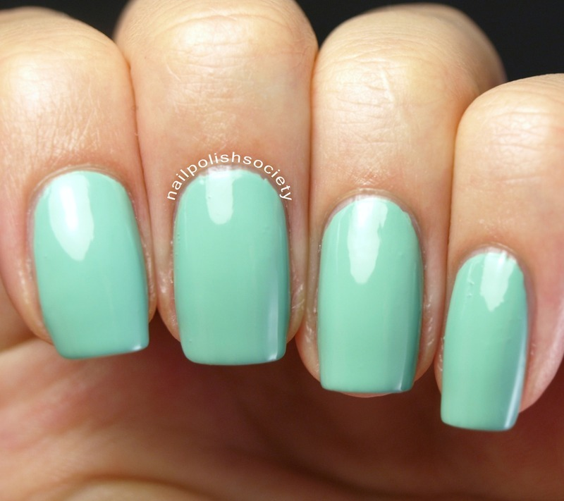 Jenna Hipp We Are Mint To Be Swatch by Emiline Harris