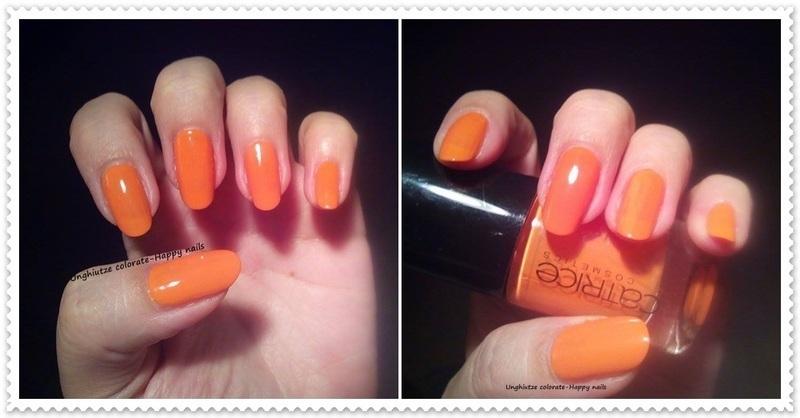 Catrice Orange-Utan Swatch by Oana  Alexandru
