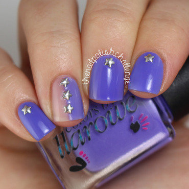 Star Studded Nail Art nail art by Kelli Dobrin