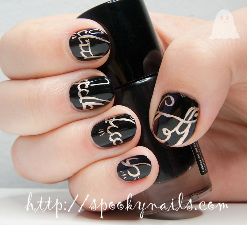One ring to rule them all nail art by sabbatha
