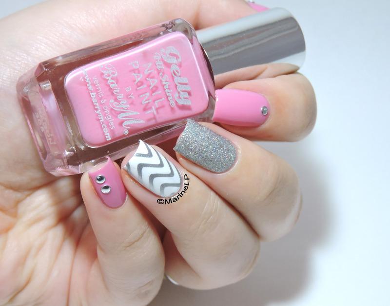 Girly Mix'n'Match for Paulina! nail art by Marine Loves Polish