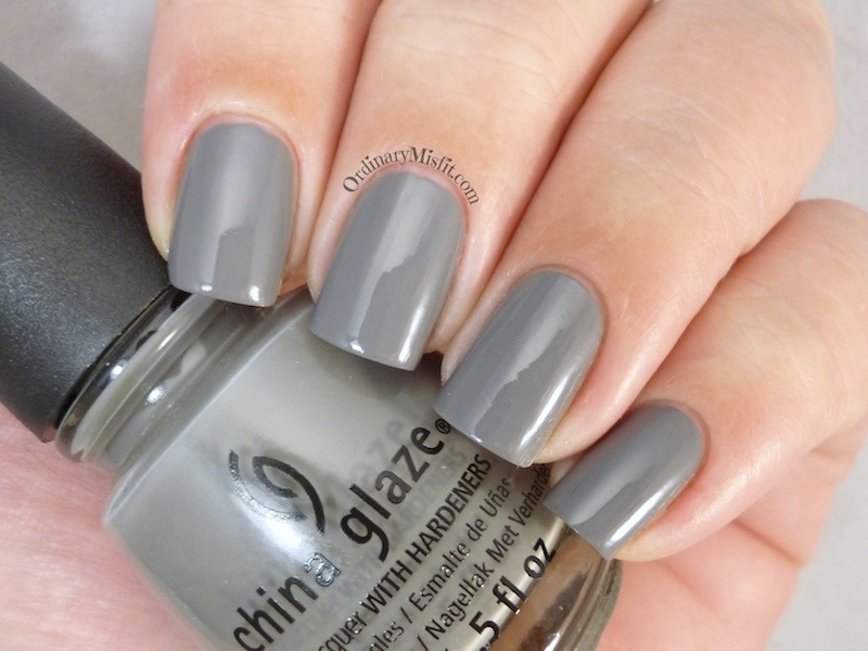 China Glaze Recycle Swatch by Michelle