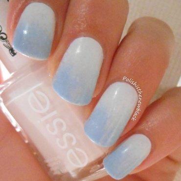 Gradient Nails  nail art by Polishisthenewblack