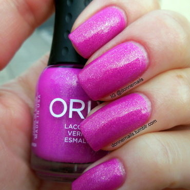 Orly Hot Tropics Swatch by Donner