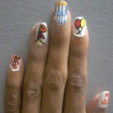 nail polis party nail art nail art by reena  dsa