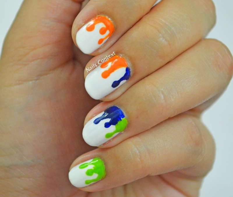 Indian independence day nail art by nailscontext nailpolis indian independence day nail art by nailscontext prinsesfo Image collections