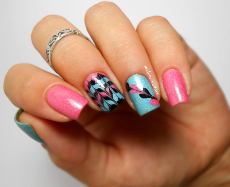 Drag nails ILNP nail art by melyne nailart