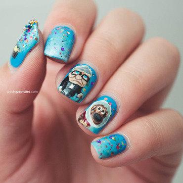UP nail art by Petite Peinture