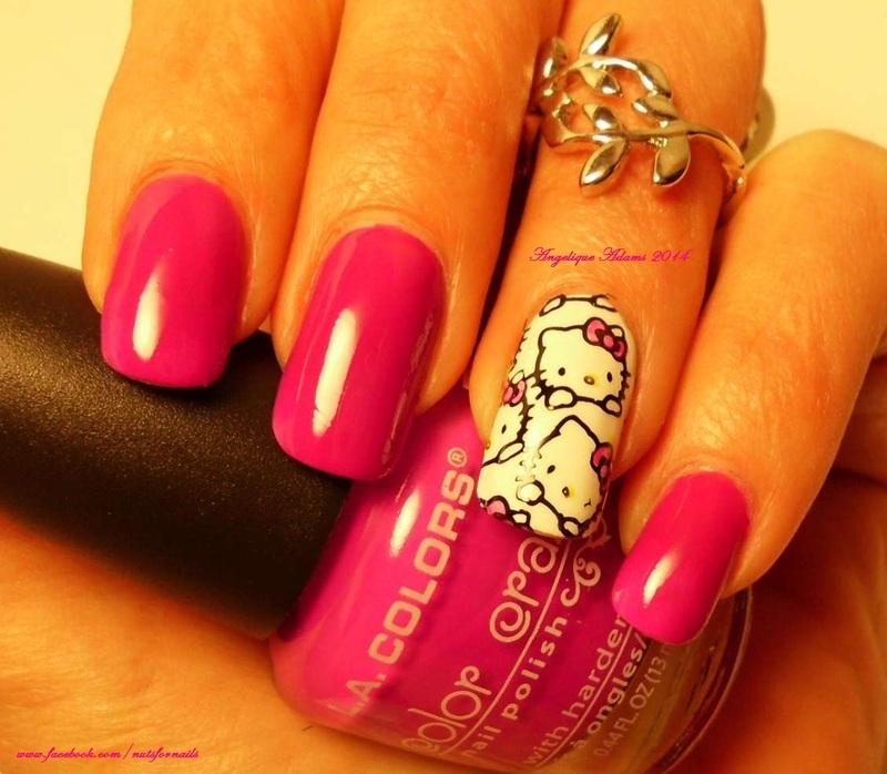 LA Colors Color Craze Electra Swatch by Angelique Adams