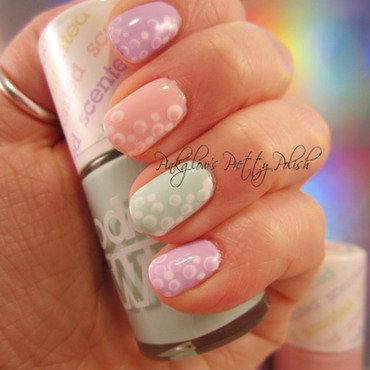 Fruit Pastel Double Dot Dotticure nail art by Pinkglow