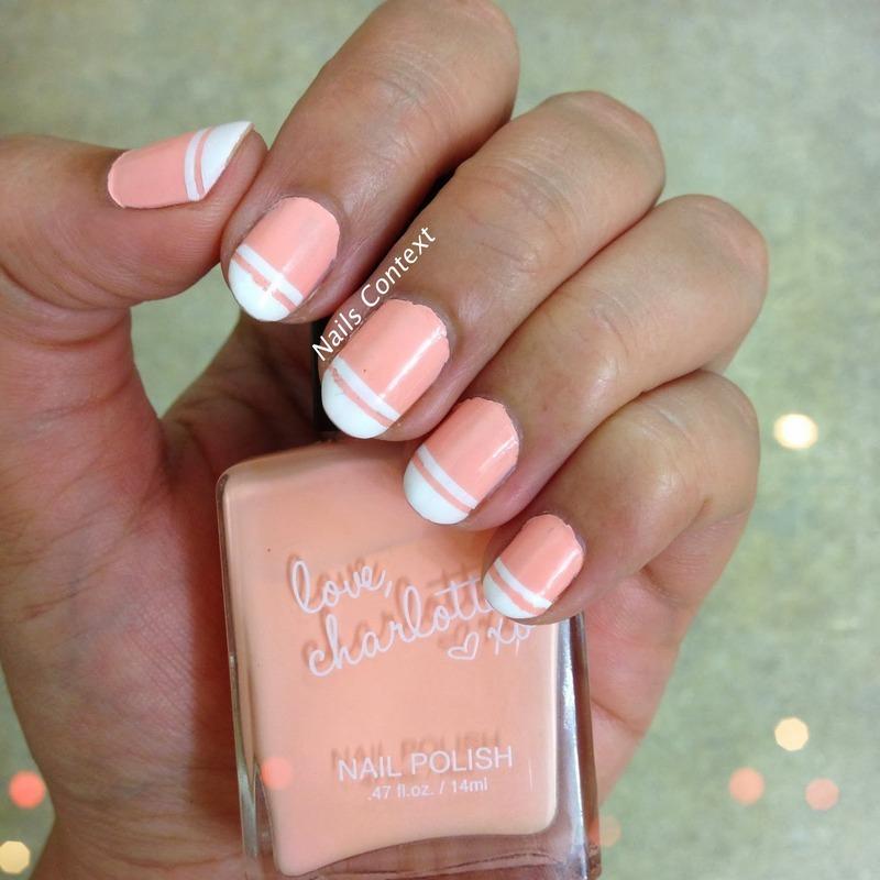 charolette Russe Orange Cream Swatch by NailsContext