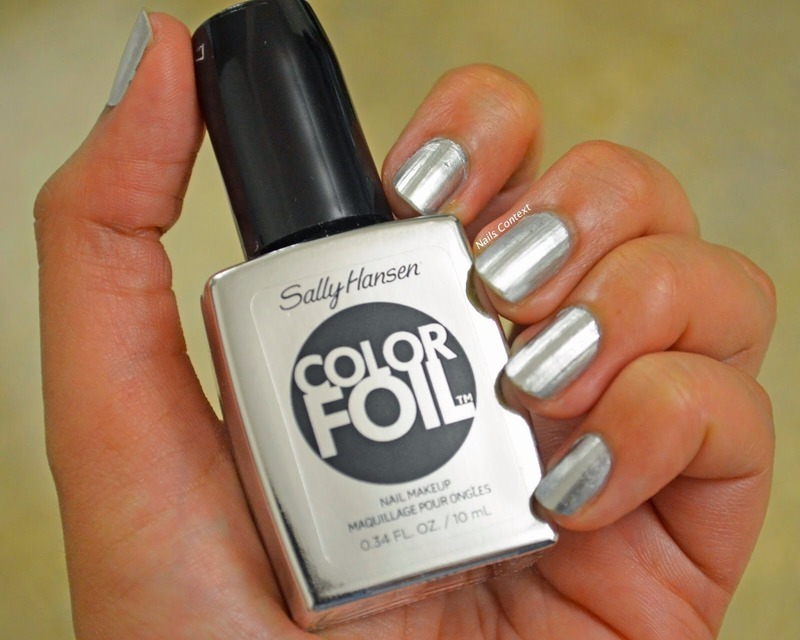 Sally Hansen Color Foil Sterling Silver Swatch by NailsContext