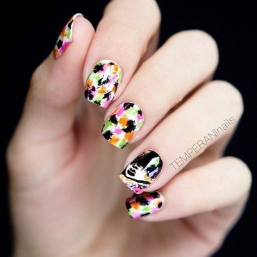 Kan Dee nail art by Temperani Nails