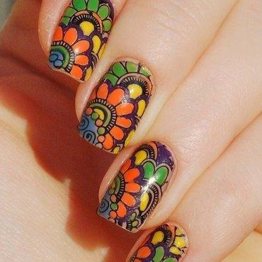 Pueen Encore SE02B nail art by Yasinisi