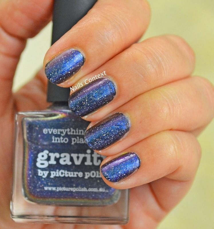 piCture pOlish Gravity Swatch by NailsContext