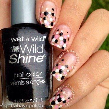 Confetti dotticure nail art by gottahavepolish