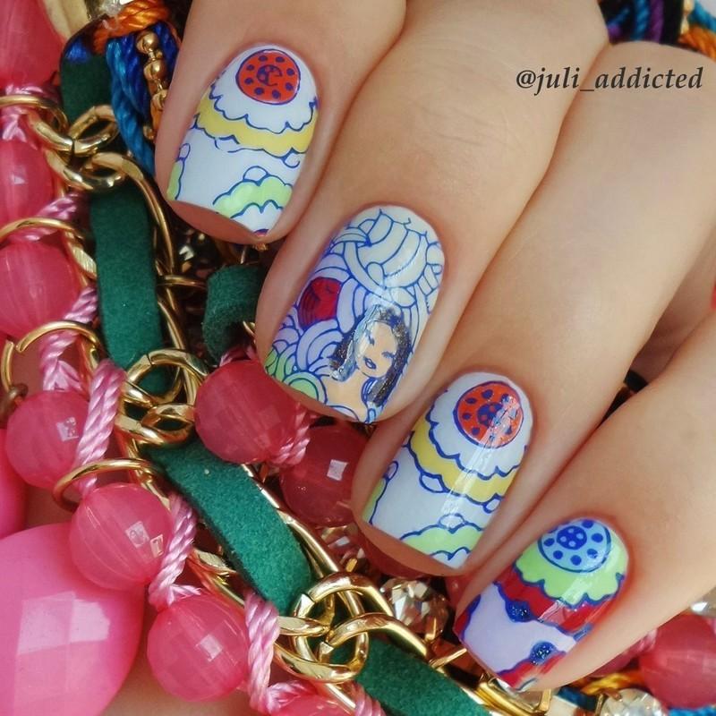 #26 nail art by Juli