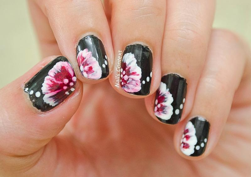 One Stroke Nail Art nail art by NailsContext