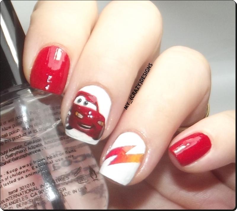 Nail Stencils III nail art by Mycrazydesigns