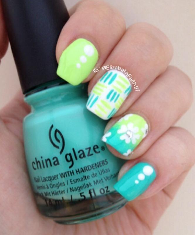 Mix and Match! nail art by PolishIsSweet