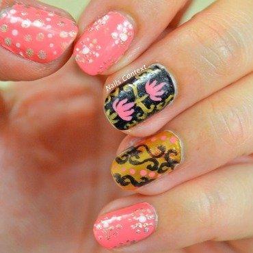Lotus Nails nail art by NailsContext