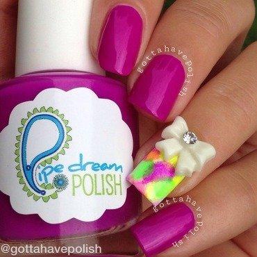 Pipe Dream Polish Sponge nail art by gottahavepolish