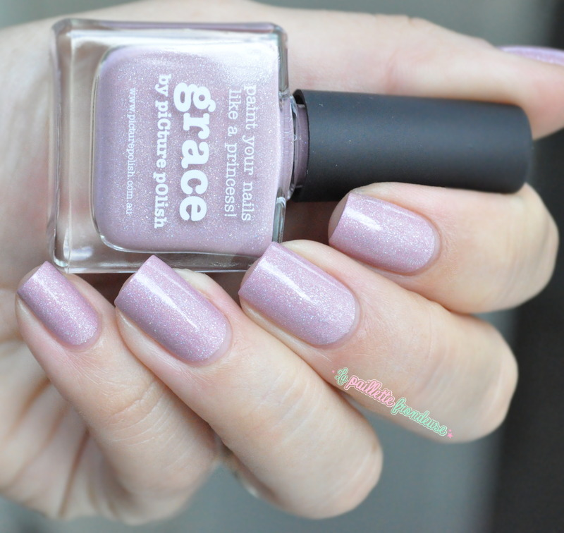 piCture pOlish Grace Swatch by nathalie lapaillettefrondeuse