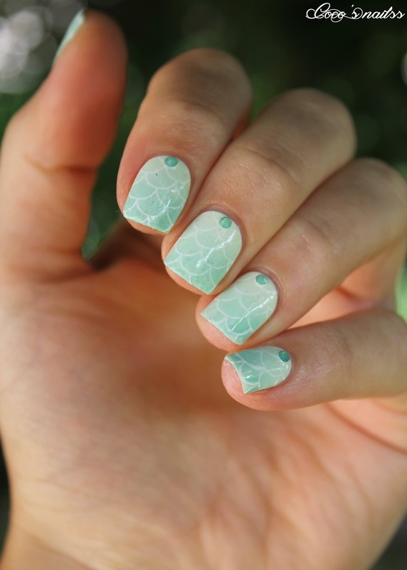 Like a mermaid nail art by Cocosnailss