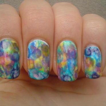 Abstract Beauty  nail art by Any Rainbow