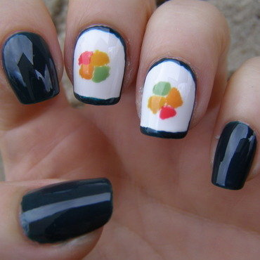 Sushi :) nail art by Szilvia