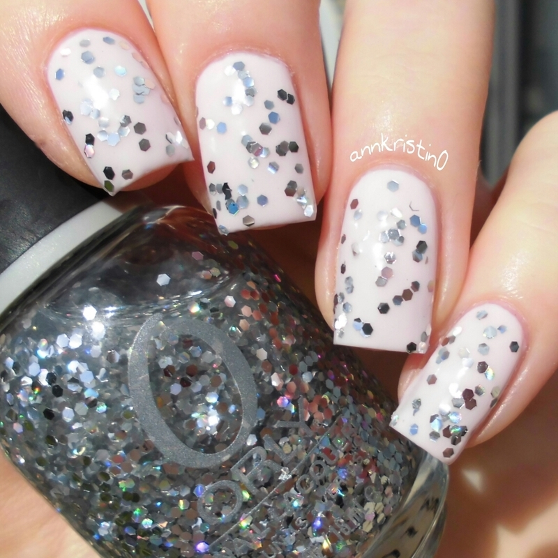 Orly Kiss The Bride and Orly Holy Holo Swatch by Ann-Kristin
