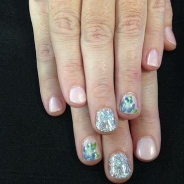 Elegance Nails nail art by Beth Marie