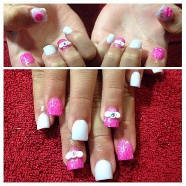 Girly Girl Nails nail art by Beth Marie