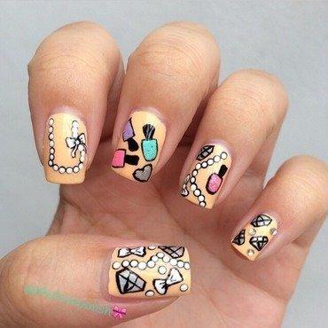 Things i love 💖 nail art by Jesmary