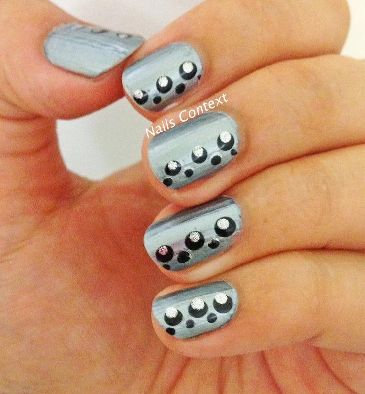 Moonraker nail art by NailsContext