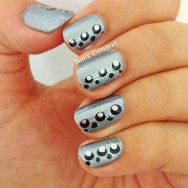 Moonraker nail art by NailsContext