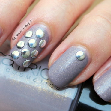 Rock n' chic nail art by Polished Polyglot