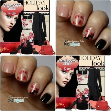 MatchOOTD 7. nail art by Isabella