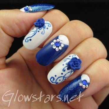 Nail Max Collections vol. 10 – design Feb 117 nail art by Vic 'Glowstars' Pires
