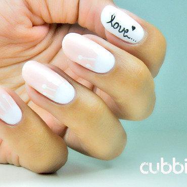 Half moon love nails thumb370f