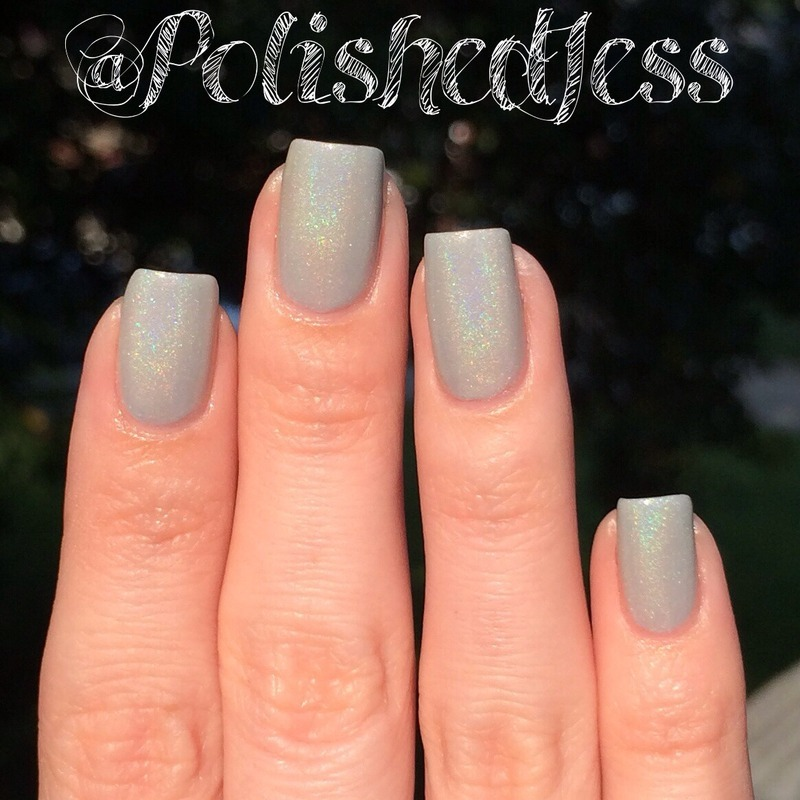 Drip Drop Nail Paint Synapse Swatch by PolishedJess