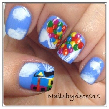 UP nail art by Riece