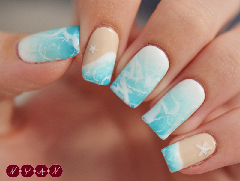 Under The Sea Nail Art By Becca Nyanails Nailpolis Museum Of