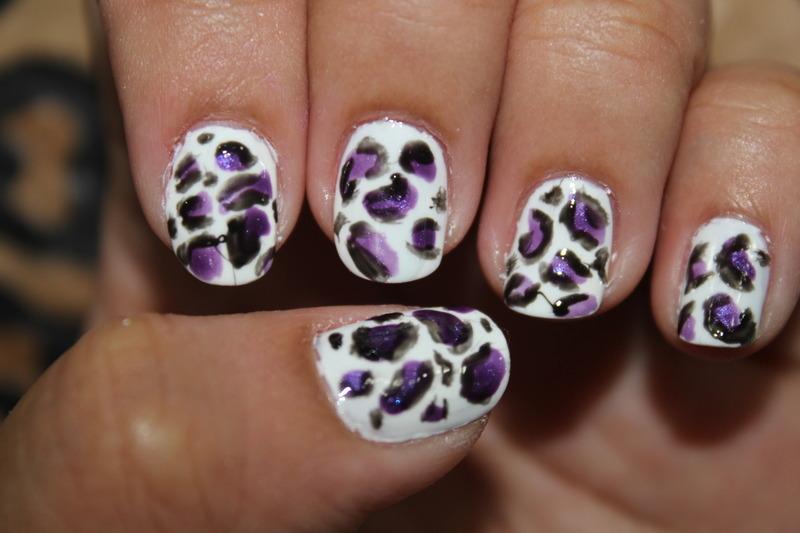 Cheetah Skin Nails nail art by ImJanine0812
