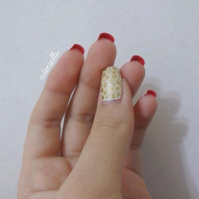 Louboutin Nails nail art by Cute Nialls - Nailpolis: Museum of Nail Art