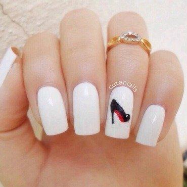Louboutin Nail Art nail art by Cute Nialls