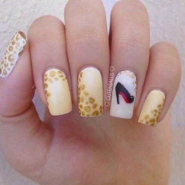 Louboutin nail art by Cute Nialls