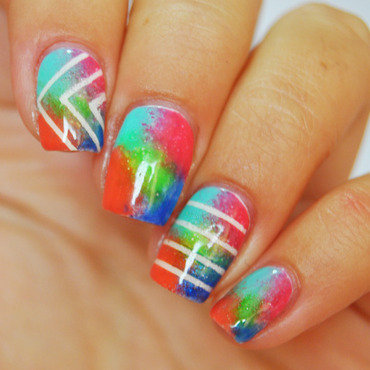 Life in Colour nail art by Patricija Zokalj