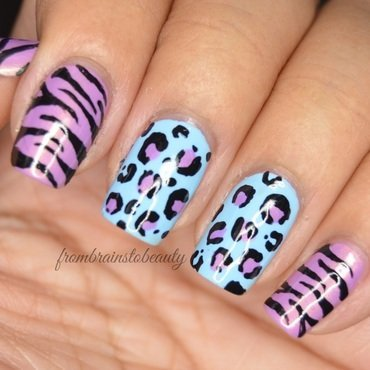 Easy Animal Print || Julep nail art by Erica ❤ frombrainstobeauty
